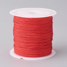 0,8 mm selyemzsinór 20 m piros