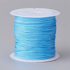 0,8 mm selyemzsinór 20 m kék