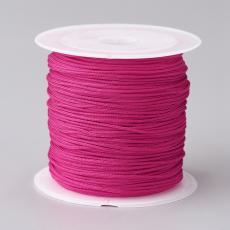 0,8 mm selyemzsinór 20 m pink
