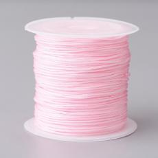 0,8 mm selyemzsinór 20 m rózsaszín