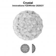 sw pavé ragasztható félgömb 8 mm crystal