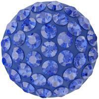 sw pavé ragasztható félgömb 8 mm majestic blue