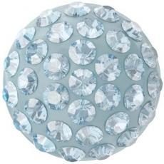 sw pavé ragasztható félgömb 8 mm aquamarine