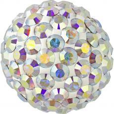 sw pavé félig fúrt gyöngy crystal AB 6 mm