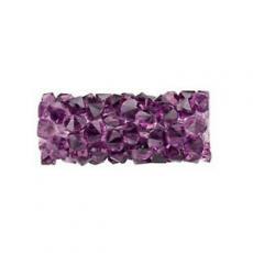 5951 fine rock tube beads 15 mm amethyst