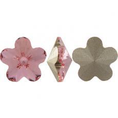 4744 virág 10 mm light rose