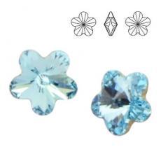 4744 virág 10 mm aquamarine
