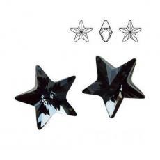 4745 csillag 10 mm crystal silver night