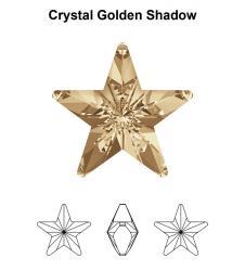 4745 csillag 10 mm crystal golden shadow