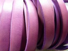 10 mm bőr karkötő alap lila 1 cm