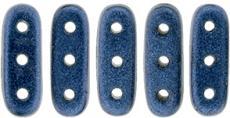 beam gyöngy 10 x 3 mm metallic suede blue 10 db