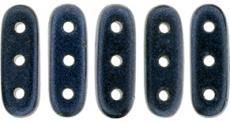beam gyöngy 10 x 3 mm metallic suede dark blue 10 db