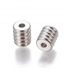 rozsdamentes acél köztes 6x5 mm 1 db