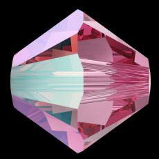 sw bicone 4 mm: rose shimmer
