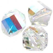 5020 helix gyöngy crystal AB 8 mm