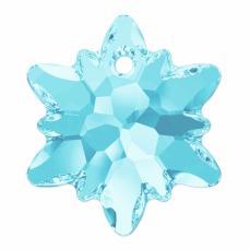 6748 edelweiss függő aquamarine 18 mm