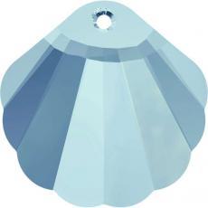 sw 6723 kagyló (seashell) aquamarine 16 mm