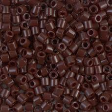 DBL0734 opaque chocolate brown 8/0 5 g