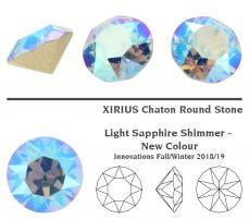 sw xirius chaton light sapphire shimmer 6,2 mm