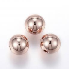 6 mm rozsdamentes acél gömb rose gold 1 db