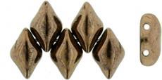 gemduo gyöngy: dark bronze 10 db