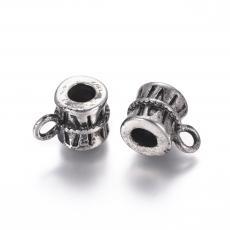 medáltartó: rozsdamentes acél antikolt szalagos 1 db