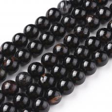 fekete turmalin/B 8 mm szál