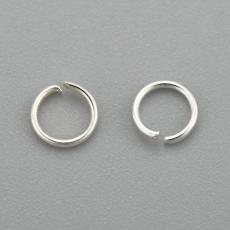 szerelőkarika: szimpla rozsdamentes acél 3,5x0,5 mm 20 db ezüst színű