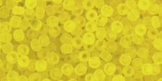 Toho 11/0 áttetsző matt sárga 10 g