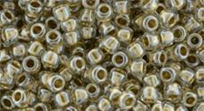 Toho 15/0 arany közepű kristály 5 g