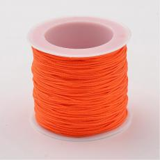 0,8 mm selyemzsinór 35 m narancssárga