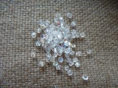 cseh bichon 3 mm kristály AB 36 db