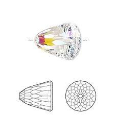 5541 large dome crystal AB
