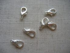 delfinkapocs ezüst 12 mm 5 db