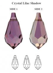6000 csepp crystal lilac shadow