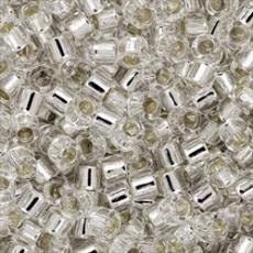 DB041 ezüst közepű kristály 5 g
