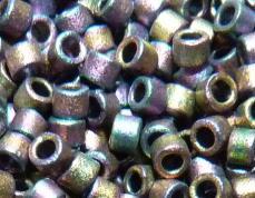 DB1055 matt metál piros-zöld/arany irizáló 5 gr