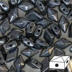 Diamonduo gyöngy: hematit 10 db