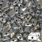 Diamonduo gyöngy: metál ezüst 10 db