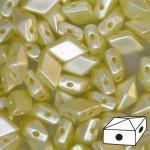Diamonduo gyöngy: pastel krém 10 db