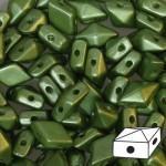 Diamonduo gyöngy: pastel oliva 10 db