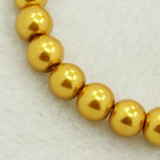 8 mm tekla: aranysárga25 db