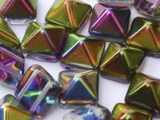 dupla lyukú préselt pyramid kristály-magic orchid