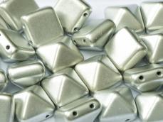 dupla lyukú préselt pyramid metál ezüst
