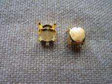foglalat 12 mm arany