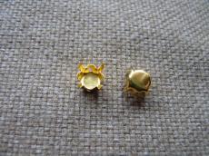 foglalat 8 mm arany