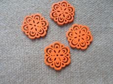 famedál: narancs virág