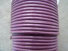 ametisztlila gömbölyített bőrszál 1 mm