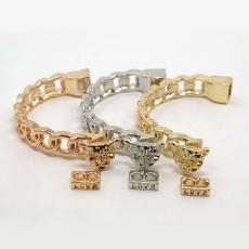 félköríves kapcsoló leopárdfej arany