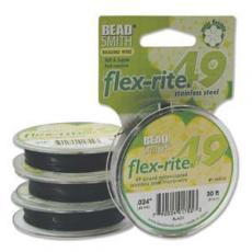flex-rite 0,6 mm fekete 1 m